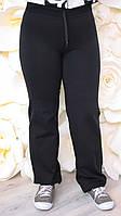 Женские спортивные брюки большого размера 202 весна, женские спортивные брюки для полных, фото 1