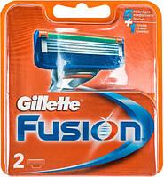 Кассеты для бритья Gillette Fusion сменные 2шт