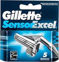 Кассеты для бритья Gillette Sensor Excel сменные 5шт