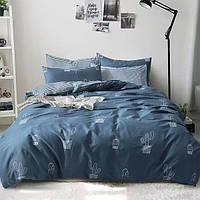 Постельное белье Cactus саржа 100% хлопок комплект евро кровать 2.0м