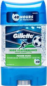 Дезодорант-антиперспирант Gillette Sport Power Rush гелевый 75 мл