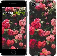 """Чехол на iPhone 7 Куст с розами """"2729c-336-4848"""""""