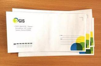 Печать адресов на конвертах онлайн в Днепре