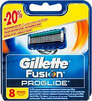 Кассеты для бритья Gillette Fusion ProGlide сменные 8шт