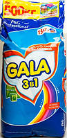 Стиральный порошок Gala 3в1 Яркие Цвета автомат 15 кг