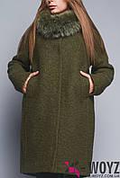 Зимнее пальто LS-8683, (Авокадо)
