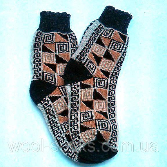 Носки зимние шерстяные теплые