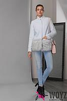 Зимнее пальто LS-8762-7, (Тиффани)