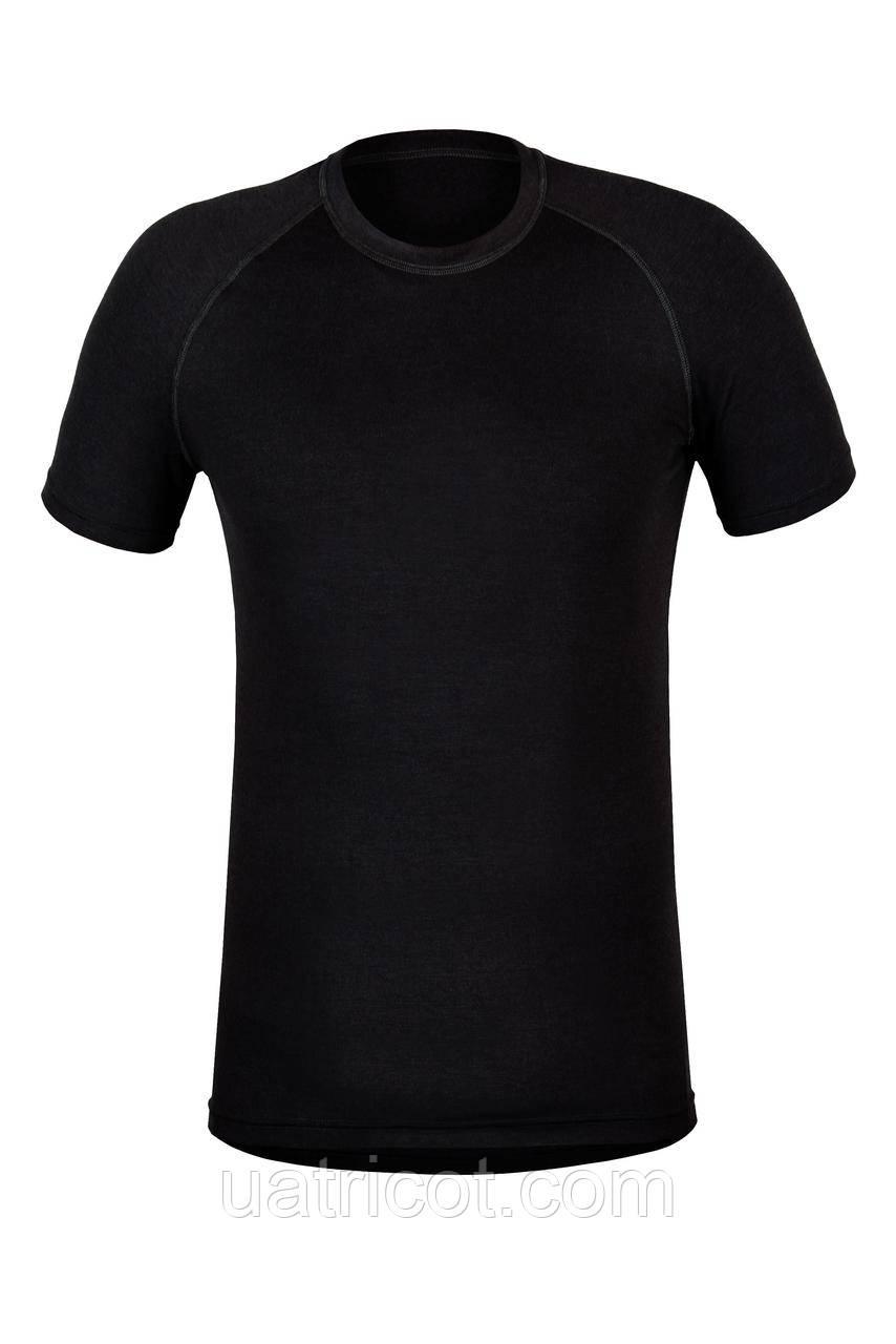 Термофутболка мужская KIFA ФМ-622 черная