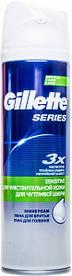 Пена для бритья Gillette Series для чувствительной кожи 250 мл