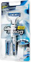 Бритва Gillette Mach3 Turbo со сменной кассетой 1шт + сменная кассета 1шт