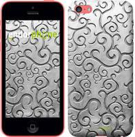 "Чехол на iPhone 5c Металлический узор ""1015c-23-4848"""