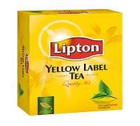 Чай Lipton черный 100 пакетиков.