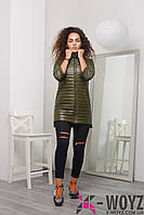 Куртка женская  LS-8729, (Авокадо)