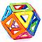 Детский магнитный конструктор Щенячий патруль на 52 детали. Развивающий магнитный конструктор для детей., фото 4