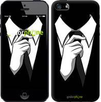"""Чехол на iPhone 5s Галстук """"2975c-21-4848"""""""