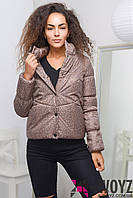 Куртка женская  LS-8737, (Коричневый)