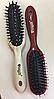 Массажная щётка для волос SALON PROFESSIONAL со щетиной (8648)