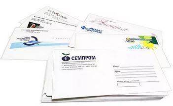 Напечатать конверт на принтере в Днепре