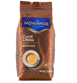 Кофе в зернах Movenpick Caffe Crema 1 кг