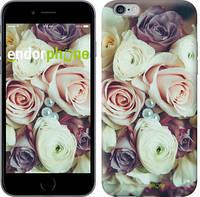 """Чехол на iPhone 6 Plus Букет роз """"2692c-48-4848"""""""