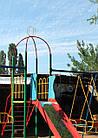 """Игровая площадка для детей  """"Король"""" с качелями и горкой, фото 3"""