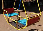 """Игровая площадка для детей  """"Король"""" с качелями и горкой, фото 5"""