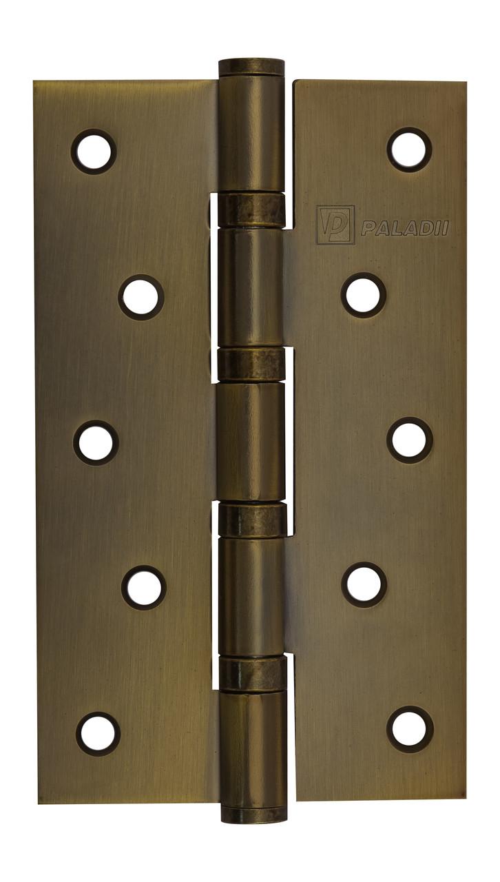 PALADII петля универсал 125*75*2.5мм 4 подш античная бронза  (1шт.)