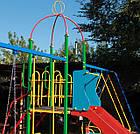 """Игровая площадка для детей  """"Король"""" с качелями и горкой, фото 6"""