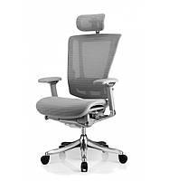 Кресло Nefil luxury mesh эргономичное серое