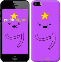 "Чехол на iPhone SE Adventure Time. Lumpy Space Princess ""1122c-214-4848"""