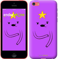 "Чехол на iPhone 5c Adventure Time. Lumpy Space Princess ""1122c-23-4848"""