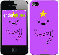 "Чехол на iPhone 4s Adventure Time. Lumpy Space Princess ""1122c-12-4848"""