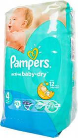 Подгузники детские Pampers Active Baby-Dry Maxi размер 4 (7-14 кг) 13шт