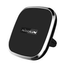 Зарядное устройство автомобильное беспроводное Qi + магнитный держатель Nillkin II Gen черный