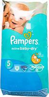 Подгузники Pampers Active Baby-Dry Junior 5 для детей 11-18 кг 11шт