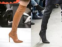 Трендовая обувь сезона осень зима 2017-2018
