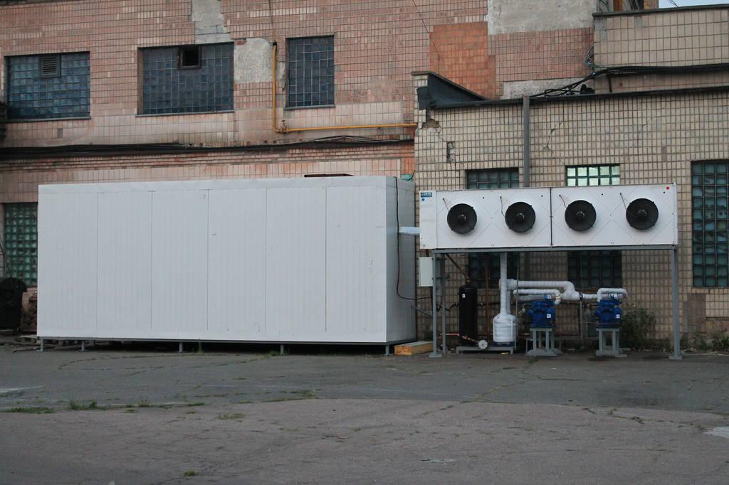 Морозильная камера для заморозки мяса и субпродуктов площадью 36м2