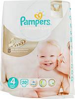 Подгузники Pampers Premium Care Maxi 4 для детей 8-14 кг 20шт