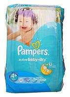 Подгузники Pampers Active Baby-Dry Maxi+ 4+ для детей 9-16 кг 45шт