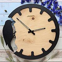 Часы настенные Дятел