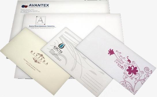 Печать почтовых конвертов в Днепре