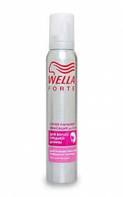 Пена для укладки Wella Forte Супер сильная фиксация для волос средней длины 200 мл