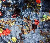 Ткань бархат-стрейч с принтом, фото 2