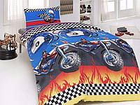 Полуторный комплект постельного белья First Choice MOTOCROSS
