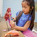 Кукла Барби Волшебная трансформация Магия Дельфинов Barbie Dolphin Magic Transforming Mermaid FBD64, фото 8