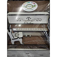 Дерев. Пианино и стульчик 002-1