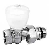 """Проходной ручной клапан для радиатора отопления 1/2"""" Giacomini R6X033"""