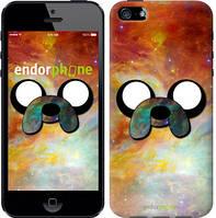 "Чехол на iPhone 5s Adventure Time. Jake v2 ""1204c-21-4848"""