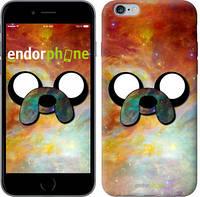 "Чехол на iPhone 6 Plus Adventure Time. Jake v2 ""1204c-48-4848"""